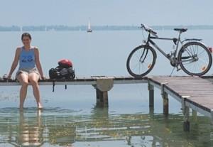 Op de fiets rond het Balatonmeer