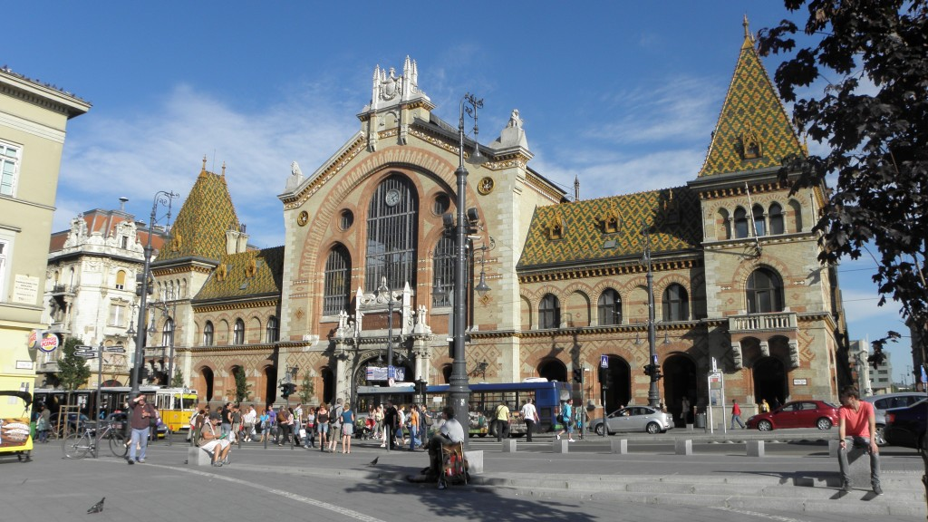 Centrale Markthal Budapest