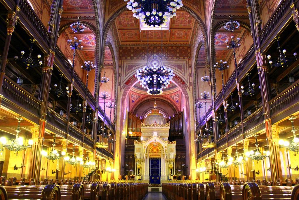 Joodse synagoge in Boedapest